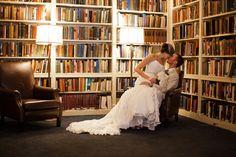 Book wedding, very romantic.