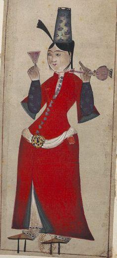 [Recueil de costumes turcs et de fleurs] Sujet : Turquie. Costumes Type : image fixe Format : 2 Vol. Format : image/jpeg Droits : domaine public Identifiant : ark:/12148/btv1b69358193