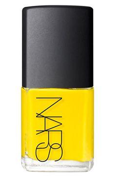 NARS 'Thakoon' Nail Polish in crazy bright yellow