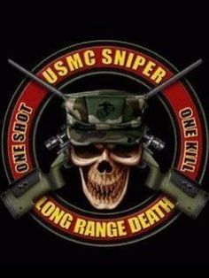 Marine Scout/Snipers: One Shot, One Kill Military Humor, Military Service, Military Art, Military Quotes, Marine Corps Uniforms, Us Marine Corps, Marine Recon, Marine Quotes, Once A Marine