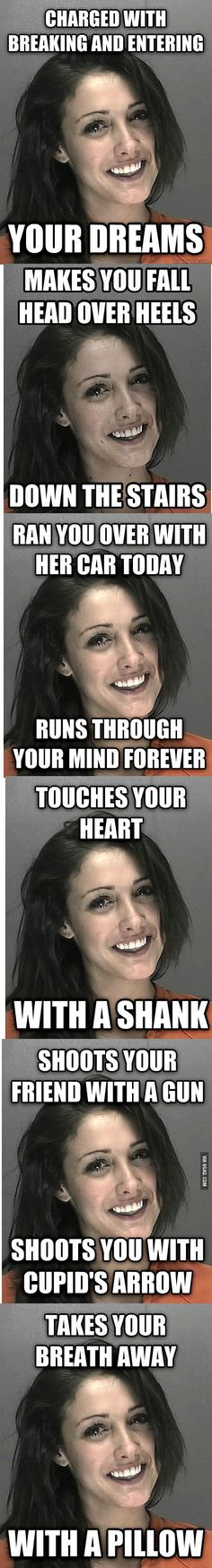 Get your daily dose of funniest pictures you will ever see Funny Images, Funny Photos, Prison Quotes, Prison Inmates, Post Date, Touching You, Dreaming Of You, Laughter, Funny Stuff