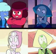 The gems look a little more feminine especially Ruby
