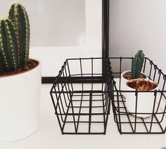 Décoration... 🔜😜 #decoration #deco #home #homesweethome #panier #metal #sostrenegrene #sostrenegrenenantes #cactuslover #cactus #picture #cuivre #interior #scandinave #scandinavehome #designsuedois #contraste #epure #myhome #minicactus #minimalism #instahome #instadecor #instaphoto