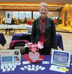 Barbara at Bellevue University - New Student Orientation February 27-28, 2014.
