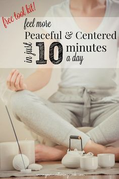 "Do you love motherhood but lack a sense of calm? Are you a highly sensitive mom struggling with the demands of parenting? Do you yearn for ""me time""?  After my daughter was born, I spent many years just getting by, without any real sense of being grounded or peaceful. This toolkit contains my favorite techniques to help you relax and feel refreshed."