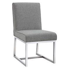 Sunpan Miller Parson Dining Chair - Set of 2 Marble - SUNP747-1