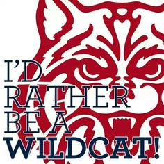 University of Arizona Wildcats, Tucson Arizona.  GO CATS!!