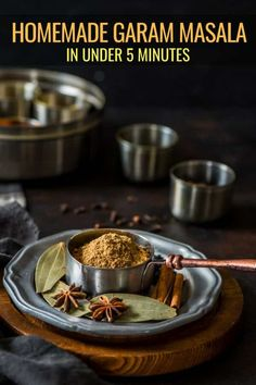 Learn how to make Garam masala - the quintessential spice blend that makes Indian curries and biryanis come to life. This warm and earthy spice blend comes together in 5 minutes and is so much better than store-bought. Masala Spice, Garam Masala, Spice Blends, Spice Mixes, Tika Massala, Easy Desserts, Dessert Recipes, Snack Recipes, Easy Indian Recipes