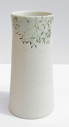 porcelain vase Karen Eriksson