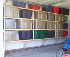 Small Garage Organization  CLICK THE PICTURE For Various Garage Storage  Ideas. #garage #