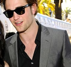 Robert Pattinson reps RayBans  NeverHide  RayBan  RealStyle  Glasses   Sunglasses  Shades 900581e7a1