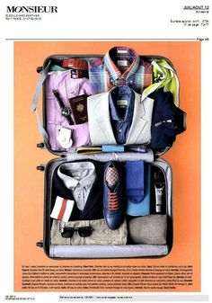 MONSIEUR (France) #suitcase #travel #Delsey