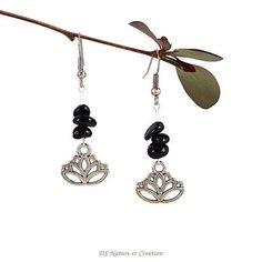 Natural gemstone jewelry Black tourmaline by DSNatureetCreation https://www.etsy.com/listing/279097022/natural-gemstone-jewelry-black