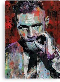 Conor McGregor UFC spray paint street art by ExtremepandaDesign- idea for photo color Conor Mcgregor Poster, Conor Mcgregor Wallpaper, Mcgregor Wallpapers, Mma Events, Notorious Conor Mcgregor, Connor Mcgregor, Ju Jitsu, Arte Pop, Cultura Pop