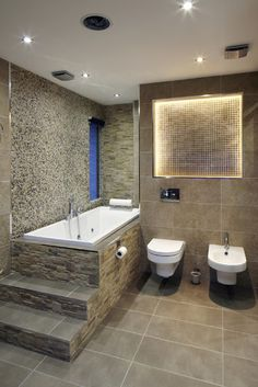 One World Design Contemporary Bathroom London By