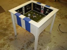 Lovely Admirable Man Cave End Tables 23 For Enchant End Tables Ideas With. Mets  Jets SF Giants Instead HTTR Redskin Fans Unite