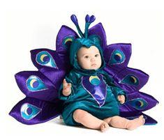 Disfraces de carnaval 2016 para niños pavo real