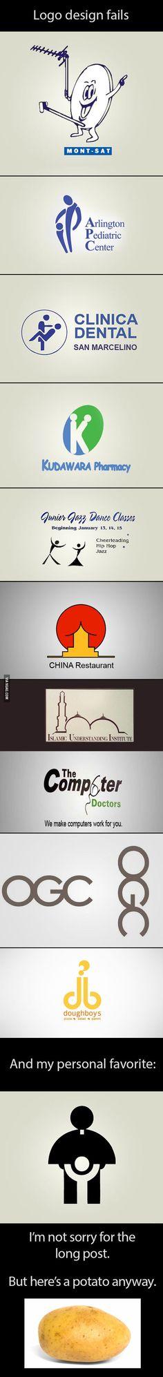 Worst logo designs