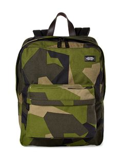 Camo Canvas Backpack by Jack Spade at Gilt