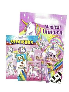 Party favours entertainment packs children Party Favours, Favors, Childrens Party Bags, Little Cherubs, Unicorn Stickers, Magical Unicorn, Perfect Party, Book Activities, Little Ones