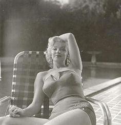 Marilyn Monroe. Photo by Harold Lloyd, 1953.