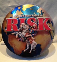 Risk Board Game Special Collectors Edition Tin 2003