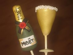 Champagne Cake Tutorial How To Anyone Easy For Bottle Pops
