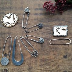 Shawl, Kilt Pins and Brooches