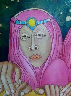Artist: DanaWodak classic oil tempera painting on canvas artforsale Spititual Realistic Art israelyPainter ArtWorks But Is It Art, Art Exhibitions, Art Daily, Art Women, Artist Gallery, Artist Painting, Contemporary Artists, Female Art, Artists