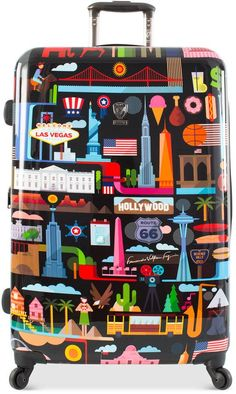 "Heys FVT USA 30"" Expandable Hardside Spinner Suitcase"
