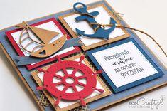 Diy Cards, Quilling, Birthdays, Frame, Handmade, Crafts, Instagram, Card Ideas, Nautical