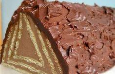 Luxus v tlamičce. Nepečené, rychlé a samozřejmě i chutné. Russian Desserts, Russian Recipes, No Bake Cookies, No Bake Cake, Hungarian Cake, 21st Cake, Homemade Pastries, Ice Cream Candy, Bulgarian Recipes