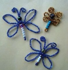 Make some pretty pipe cleaner butterflies using some beads! From FaveCrafts