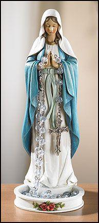 Madonna Rosary Holder - MaryShop.com Catholic Gifts
