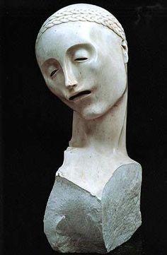 Adolfo Wildt - Testa della madre (Mother's Head) 1922