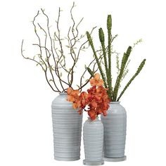 Marena Coastal Beach Soft Blue Horizontal Stripe Vase 12H ($78) ❤ liked on Polyvore featuring home, home decor, vases, light blue home decor, colored vases, birch vase, blue crystal vase and coastal home decor