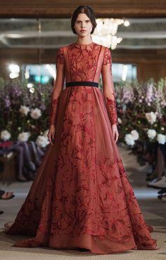 22 vackraste klänningarna från modeveckan