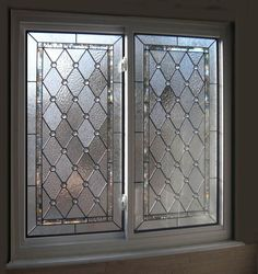 How To Create A Leaded Glass Look On Your Windows Using Self Adhesive Lead Tape Available