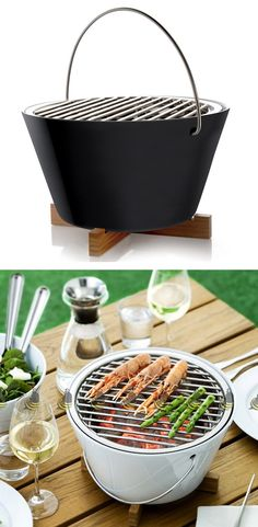 Portable Table Grill Great for tailgating cooking snacks etc Home Gadgets, Gadgets And Gizmos, Kitchen Gadgets, Bbq Grill, Grilling, Glamping, Food Trucks, Portable Table, Outdoor Cooking