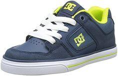 Zapatos negros DC Shoes Pure infantiles talla 37 HMQoSMF