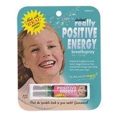 Blue Q Breath Spray - Really Positive Energy