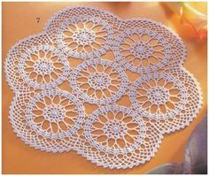 Home Decor Crochet Patterns Part 98 - Beautiful Crochet Patterns and Knitting Patterns Crochet Cord, Crochet Stars, Crochet Doily Patterns, Thread Crochet, Filet Crochet, Crochet Lace, Knitting Patterns, Crochet Table Runner Pattern, Crochet Tablecloth