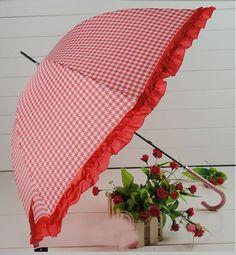 The Plover Princess Umbrella Shade Long Handled Umbrellas Waterproof | eBay