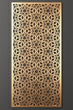 Decorative Metal Screen, Decorative Panels, Decorative Objects, House Gate Design, Door Design, Metal Wall Art Decor, Wall Decor, Jaali Design, Cnc Cutting Design