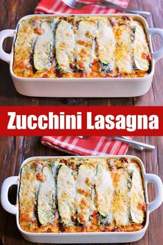 In this delicious zucchini lasagna, zucchini slices replace the noodles. This lo… In this delicious zucchini lasagna, zucchini slices replace the noodles. This low carb, gluten free lasagna has all the wonderful flavors of lasagna, minus the carbs! Zucchini Lasagna Recipes, Gluten Free Lasagna, Keto Lasagna, Lasagna Noodles, Chicken Zucchini, Zucchini Noodle Lasagna, Sliced Zucchini Recipes, Zucchini Lasagna Recipe Easy, Healthy Vegetable Lasagna