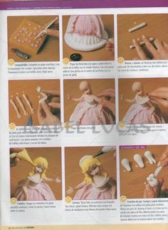 STEP BY STEP PRINCESS SUGAR PASTE PART N°3