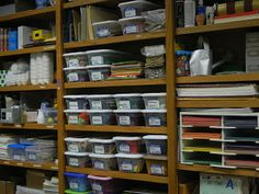 Hands On Bible Teacher: Working on the Resource Room at the Church Building