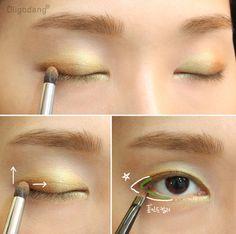 #oligodang #cosmetic #makeup #hair #K-beauty 올리고당 메이크업 펄을 품은 눈 맥 고져스골드와 앰버라이트 219squirrel.