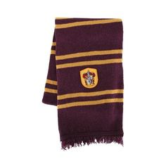 Gryffindor Wool Scarf ($250) ❤ liked on Polyvore featuring accessories, scarves, harry potter, gryffindor, hogwarts, woolen shawl, wool scarves, wool shawl and woolen scarves
