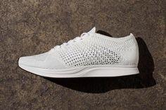 Nike Flyknit Racer 「White / Platinum」全白配色推出 | HYPEBEAST